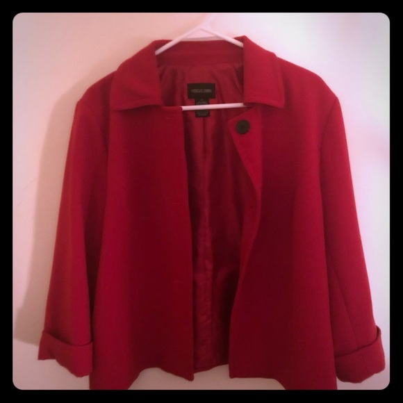 Focus 2000 Jackets & Blazers - Beautiful red coat